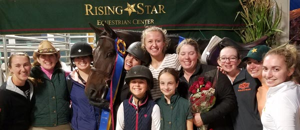 Rising Star Equestrian team photo